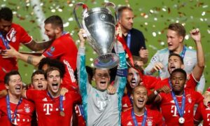 Bayern won the Champions League