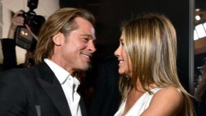 Brad Pitt and Jennifer Aniston received Emmy nominations
