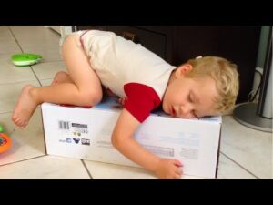 Funny Sleeping Baby Postures  –  Cute Babies Video Compilation 2018