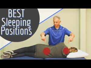BEST Sleeping Position for Back Pain, Neck Pain, & Sciatica
