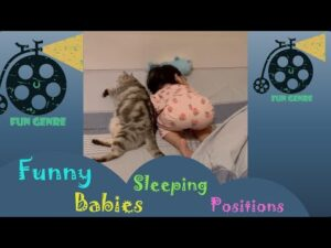 Funny Babies Sleeping Positions Compilation