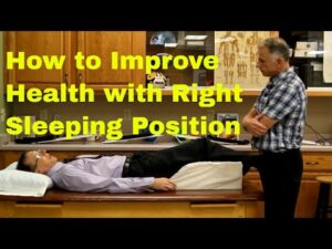 How to Improve Your Health With Right Sleeping Position-Right or Wrong Sleeping Posture.