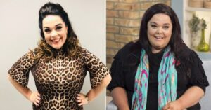 The actress lost 76 kg thanks to dancing