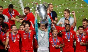 Bayern set a record of winning in the Champions League