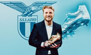 Lazio striker Ciro Immobile won European Golden Shoe