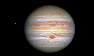 Hurricane speeds of 560km per hour on Jupiter