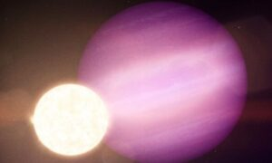 Discovered giant planets orbiting the dead star
