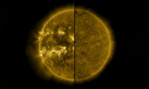 The Sun enters a new cycle of activity